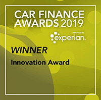 Innovation Award - Car Finance Awards 2019