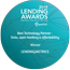 """Best Technology Partner - Data, open banking & affordability"" - Lending Awards 2019"