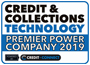 """One of the top 20 'Premier' Power Companies for 2019"" - Credit & Collections Technology Power List 2019"