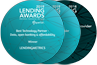 """Best Technology Partner - Data, open banking & affordability"" and ""Best Credit Information Provider"" - Lending Awards 2019"
