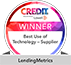 """Best Use of Technology - Provider"" - Credit Awards 2018"
