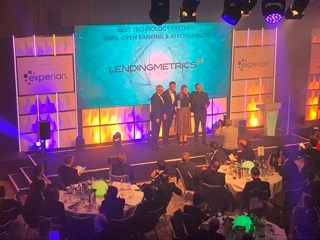 LendingMetrics being presented with the Best Technology Partner